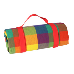 Mantel picnic impermeable Multicolor 140 x 140 cm
